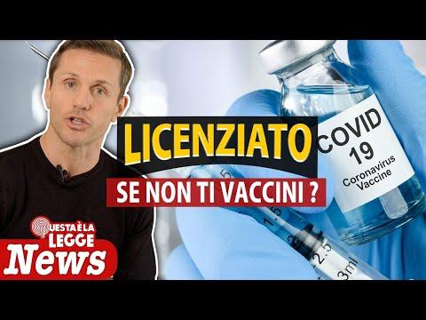 Licenziamento per il lavoratore che non vuole vaccinarsi: è legittimo? | avv. Angelo Greco