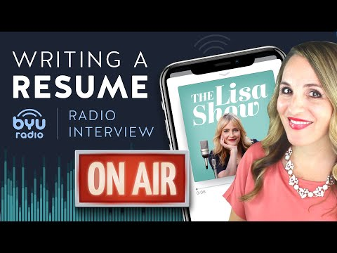 Writing A Resume, Employment Gaps and Changing Careers - Radio Talk Show Interview photo
