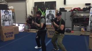 KEANU REEVES TACTICAL TRAINING FOR JOHN WICK 2 (2017)
