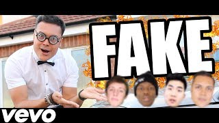 DISS TRACK - FAKE YOUTUBERS !!! (Official Music Video)