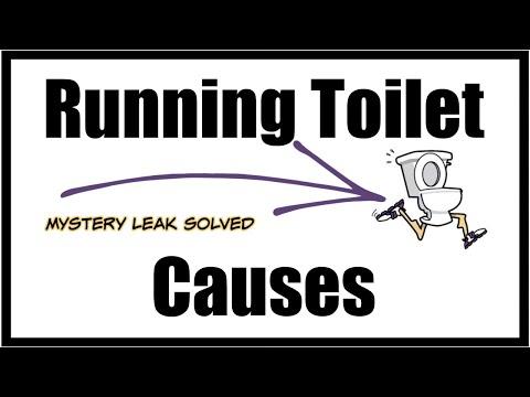 Running Toilet Causes I Mystery Leak Solved