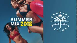 Summer Mix 2018  🌴☀️🌊  Deep & Tropical House, Chill Out Mix, EDM, Fresh Dance Musiclistcover