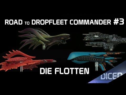 Die vier Admiräle   Die fertigen Flotten   Road to Dropfleet Commander #3   DICED