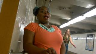 BEST ALL I ASK COVER I HAVE EVER HEARD LIVE FROM NYC SUBWAY BY VIRAL STAR  SILVIA JHONY LIVE
