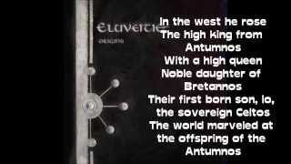 Eluveitie Celtos lyrics