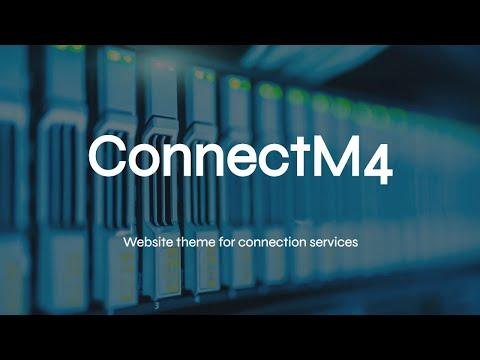 Mobirise Digital Website Theme | ConnectM4