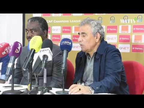 Video : Déclarations d'après match des entraineurs du Wydad et de l'AS Togo Port