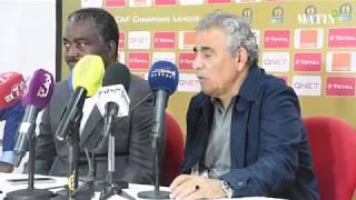 Déclarations d'après match des entraineurs du Wydad et de l'AS Togo Port