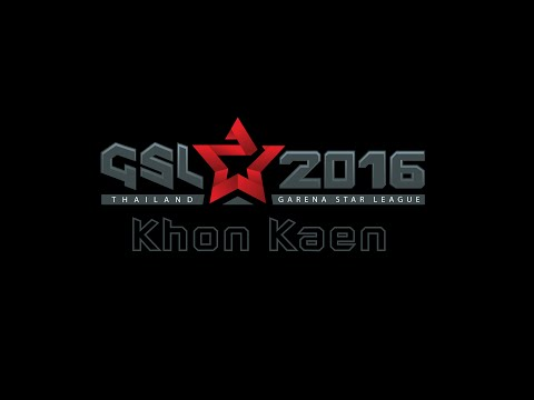 Garena Star League 2016 Roadshow Khon Kaen [Day 1]