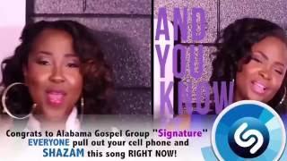 "Signature's New Single ""I Got The Victory"" On Shazam!"