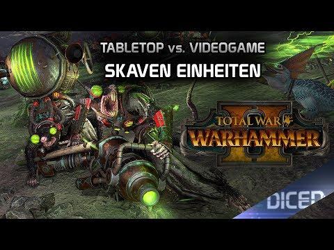 Total War: Warhammer 2   Tabletop vs. Videospiel   Skaven Einheiten   DICED