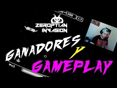 ZEROPTIAN INVASION GAMEPLAY Y GANADORES DEL SORTEO