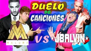 MALUMA vs J BALVIN | Duelo de Canciones | BATALLA DE REGGAETON