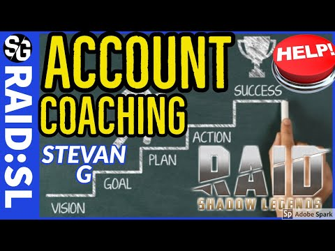 RAID SHADOW LEGENDS | ACCOUNT COACHING | STEVAN G