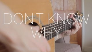 Don't Know Why - Norah Jones - Fingerstyle Guitar Cover by James Bartholomew