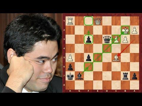 Amazing Chess Game: Jan-Krzysztof Duda vs Hikaru Nakamura :Tradewise Gibraltar (2018): Dragon