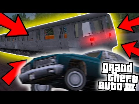 HOW TO STOP THE TRAIN IN GTA 3!! (100% WORKING)
