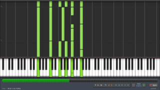 Synthesia - David Glen Eisley - Sweet Victory Piano Tutorial + Sheet Music