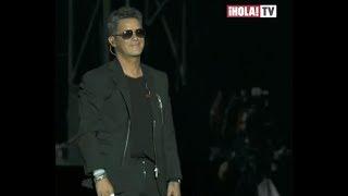 Alejandro Sanz celebró los 20 años de su disco 'Más' en su concierto en España | La Hora ¡HOLA!