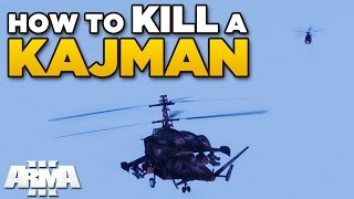 HOW TO KILL A KAJMAN | ARMA 3 [Stream Highlight]