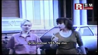 Gigi-Becali-in-1990-cu-noua-lui-masina,-Mercedes-190-Premiera-RTV