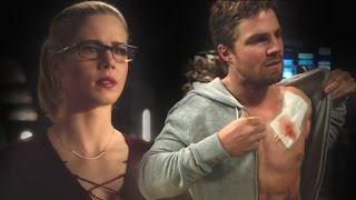 Oliver and Felicity - Superman [5x18]