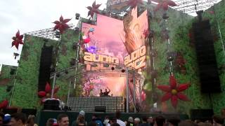 Audiotricz ft Miss Palmer - Never Leaving @SUNRISE FESTIVAL 2014
