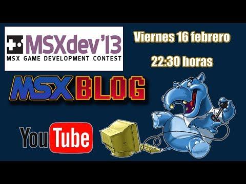 Los videojuegos de MSXdev'13 - MSX homebrew