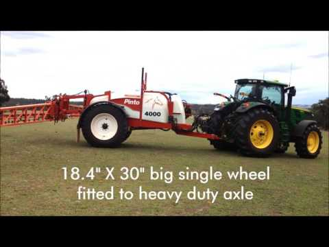 Croplands Pinto 4000 Litre Trailed Sprayer