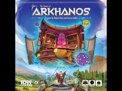 Reseña The Towers of Arkhanos