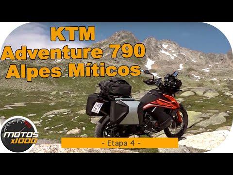 Ruta Alpes Míticos con la KTM Adventure 790 | Etapa 4 | Motosx1000