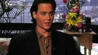 Johnny Depp Cry Baby TV Interview (1990)
