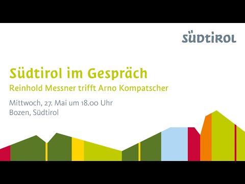 Südtirol im Gespräch: Reinhold Messner trifft Arno Kompatscher.