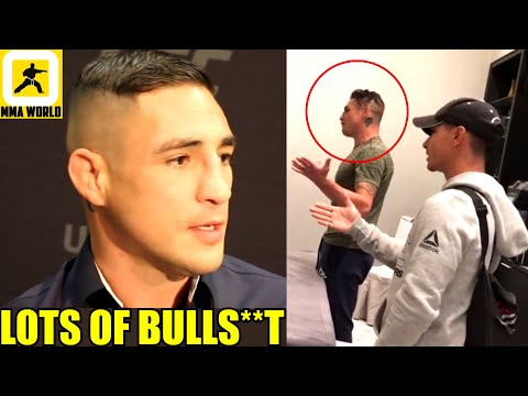 Diego Sanchez reveals the reason why he believes he got cut from the UFC after 16yrs of service, Jon
