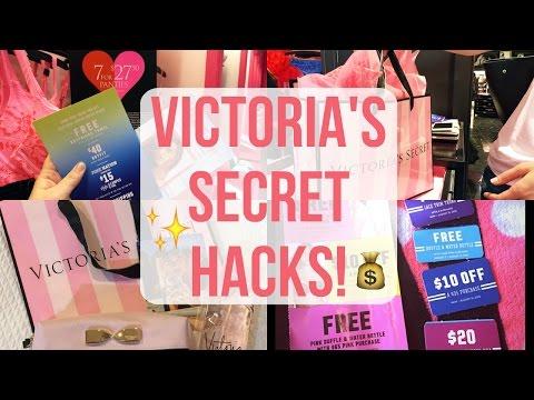 Victorias Secret automne récompense $20 Off $50 octobre 22-28 Nouveau coupon Carte Cadeau Rose