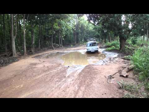 Road from Juba to Yei in South Sudan Africa 15