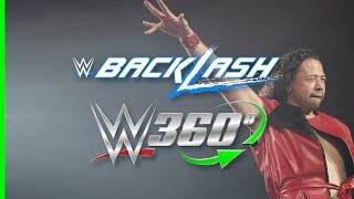 Experience Shinsuke Nakamura's electrifying entrance at Backlash in 360°!