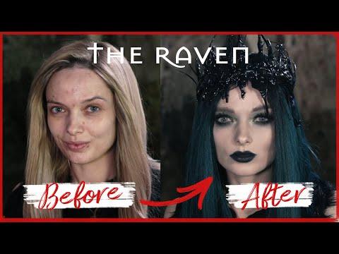 THE RAVEN - Halloween Makeup Tutorial // MyPaleSkin