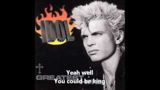 Billy Idol - Shock To The System (lyrics)
