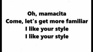 Tinie Tempah ft Wizkid - Mamacita (WITH AUDIO) - Cover - Lyrics Video