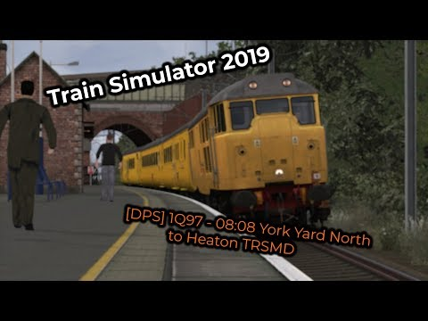 [DPS] 1Q97 - 08:08 York Yard North to Heaton TRSMD (Livestream 03/02/2019)