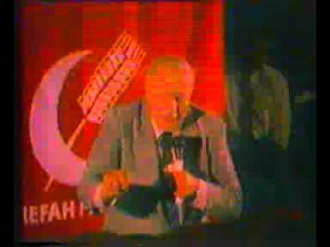 132 Prof  Dr  Necmettin ERBAKAN, Sıhhatli Ekonomi Konferansı, RP Dönemi Bakırköy İstanbul 1988, 2 cd