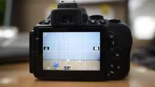 NIKON D5500 TOUCH SHUTTER On&OFF setting