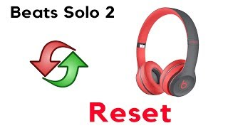How to Reset your Beats By Dre Solo2 2.0 Wireless Headphones