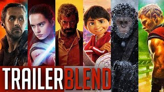 Year in Film: 2017 (Trailer Supercut)