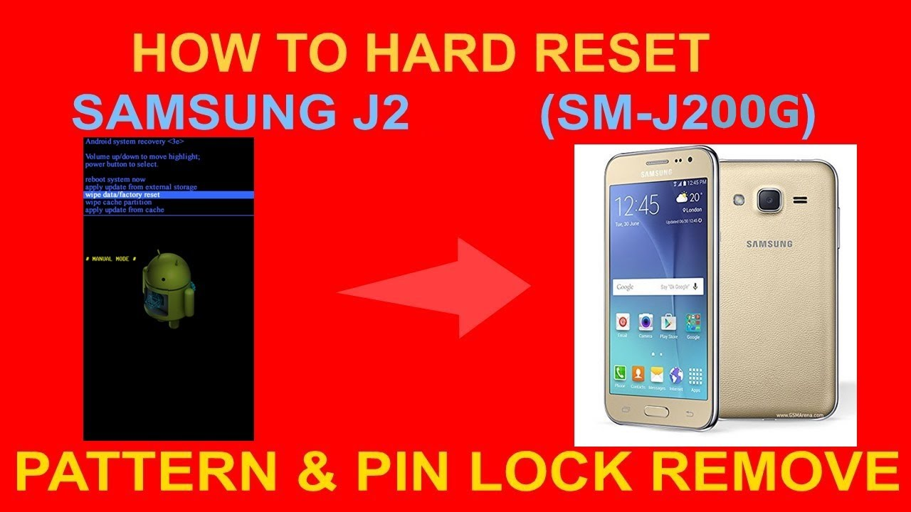 Download thumbnail for How To Hard Reset samsung j2 how to unlock