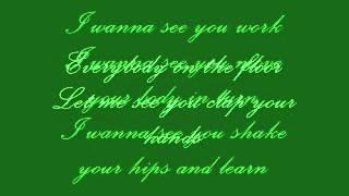 Alesha Dixon - The Boy Does Nothing [lyrics]