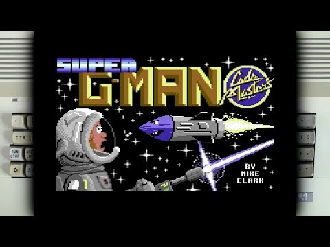 Super G-man on the Commodore 64