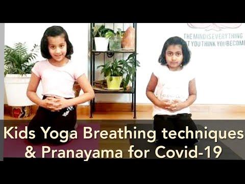 Kids Yoga breathings & pranayama practices for Covid-19 prevention & Boost Immunity   Kids Yoga