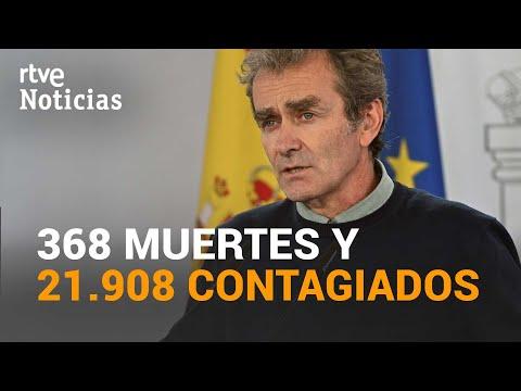 España registra 368 muertes, la cifra más alta de la segunda ola, y 21.908 nuevos casos | RTVE